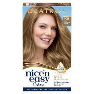 Clairol Nice'n Easy Cr�me Natural Looking Oil-Infused Hair Dye Dark Champagne Blonde 7CD