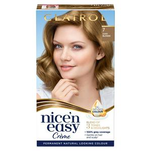 Clairol Nice'n Easy Cr�me Natural Looking Oil-Infused Permanent Hair Dye Dark Blonde 7