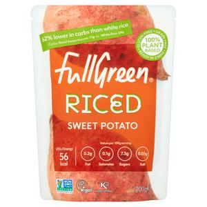 Fullgreen Riced Sweet Potato 200g