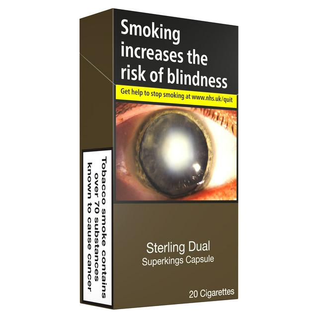 Sterling Dual Capsule Superkings Cigarettes X20 Sainsbury S