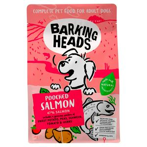 Barking Heads Fusspot Natural Adult Dog Food with Salmon 1kg