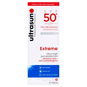 Ultrasun Professional Protection Infrared-A Protection SPF 50+ UVA Extreme 100ml