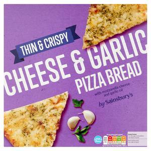 Sainsbury's Cheese & Garlic Pizza Bread 281g