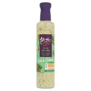 Sainsbury's Pesto Dressing, Taste the Difference 255ml