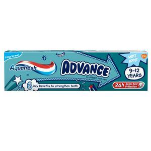 Aquafresh Mint Boost Advance Fluoride 9-12 Years 75ml