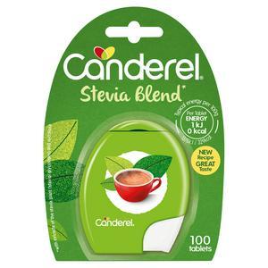 Canderel Stevia Tablets, O Calories Sweetener x100
