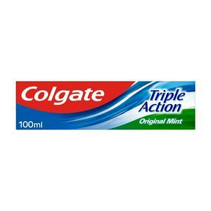 Colgate Triple Action Original Mint Toothpaste 100ml