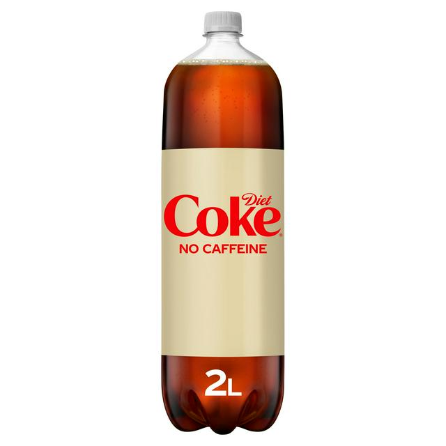 caffeine free diet coke 2l plastic bottle