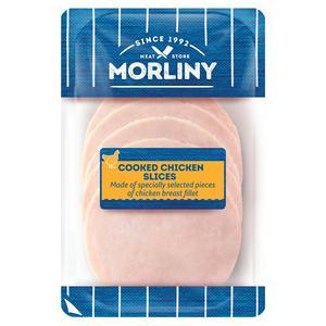 Morliny Roast Chicken Fillet Slices x8 100g