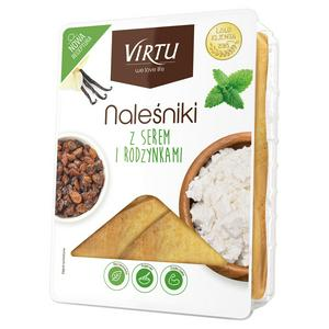 Virtu Pancakes with Cottage Cheese & Raisins 400g