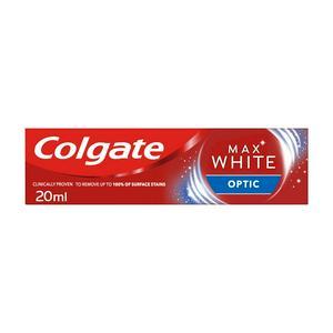 Colgate Max White One Optic Whitening Travel Size Toothpaste 20ml
