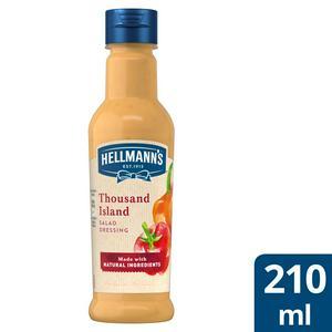Hellmann's Thousand Island Salad Dressing 210ml