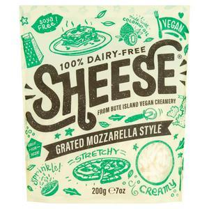 Bute Island Foods Ltd Grated Sheese Vegan Mozzarella Style 200g
