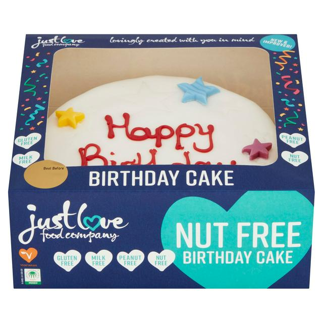 Just Love Happy Birthday Cake Serves 10 Sainsbury S