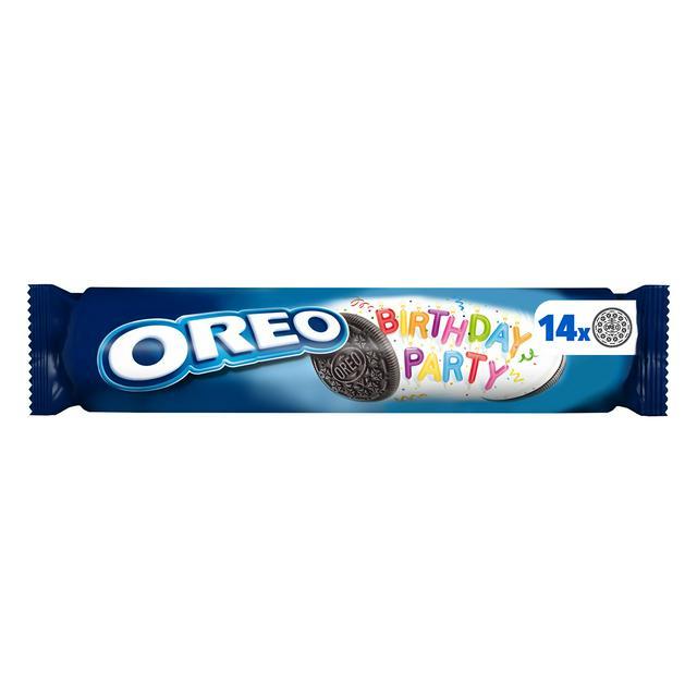 Enjoyable Oreo Birthday Party Sandwich Biscuit 154G Sainsburys Funny Birthday Cards Online Elaedamsfinfo