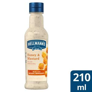 Hellmann's Honey & Mustard Salad Dressing 210ml