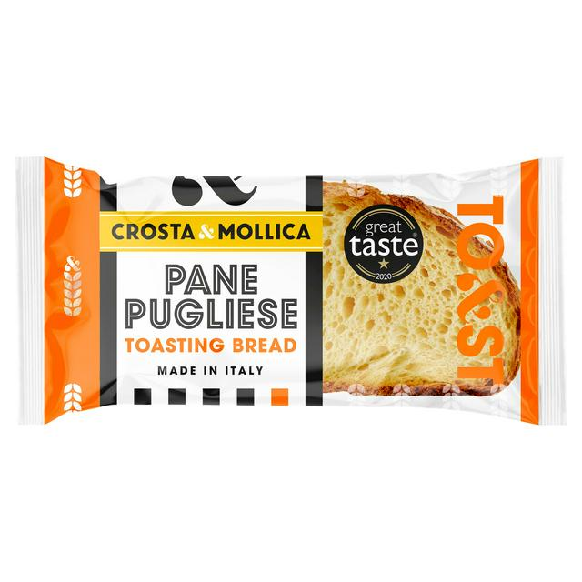 Crosta Mollica Pane Pugliese Italian Toasting Bread 400g Sainsbury S