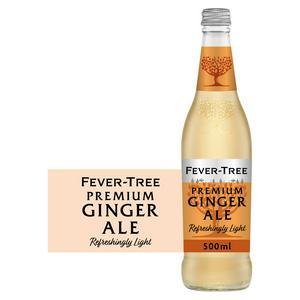 Fever-Tree Refreshingly Light Ginger Ale 500ml