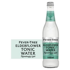 Fever-Tree Refreshingly Light Elderflower Tonic Water 500ml