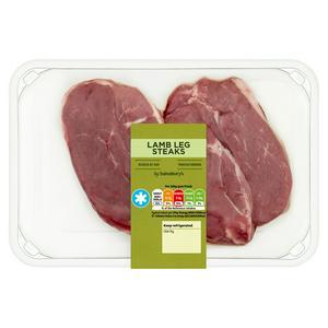 Sainsbury's Lamb Leg Steaks 300g