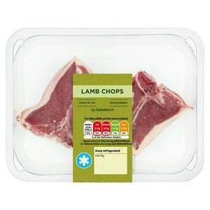 Sainsbury's Lamb Chops 170g