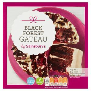 Sainsbury's Blackforest Gateau 375g
