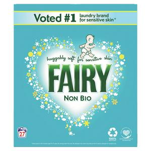 Fairy Non Bio Washing Powder for Sensitive Skin 1.75Kg (27 Washes)