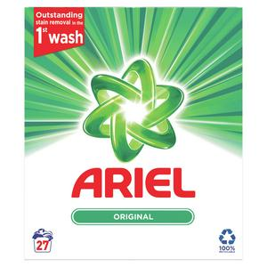 Ariel Original Washing Powder 1.75Kg (27 Washes)