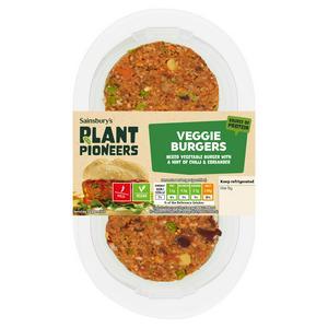 Sainsbury's Love Your Veg! Vegan Mix Burger 225g