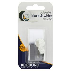 Korbond Black & White Thread