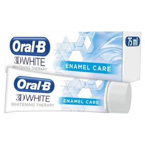 Oral-B 3D White Whitening Therapy Toothpaste 75ml, Enamel Care