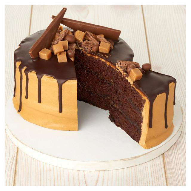 Outstanding Sainsburys Salted Caramel Drip Cake 1Kg Sainsburys Funny Birthday Cards Online Necthendildamsfinfo