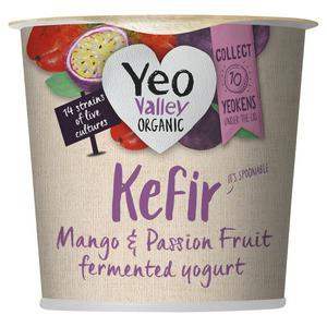 Yeo Valley Kefir Mango & Passion Fruit Organic Yogurt 350g