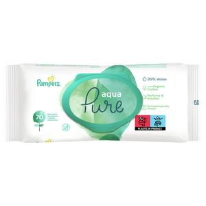 Pampers Baby Wipes Aqua Pure x70