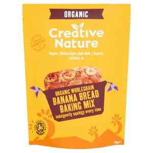 Creative Nature Whole Grain Banana Bread Mix 250g