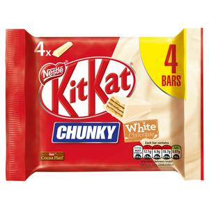 KitKat Chunky White Chocolate Bar Multipack 4x40g