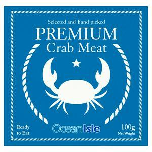 Ocean Isle Premium Crab Meat 100g