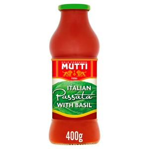 Mutti Passata With Basil 400g