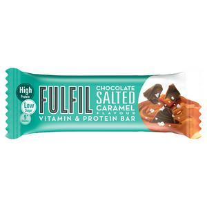 FULFIL Chocolate Salted Caramel Vitamin & Protein Bar 40g