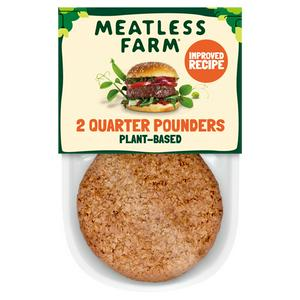 Meatless Farm Plant-Based Burgers x2 227g