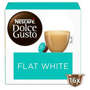Nescaf� Dolce Gusto Flat White Coffee x16 Pods, 16 Drinks