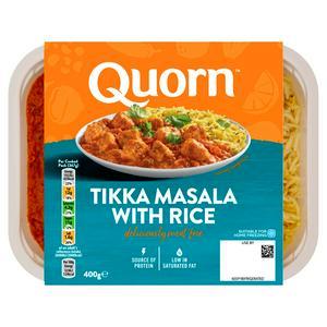 Quorn Vegetarian Tikka Masala Ready Meal 400g
