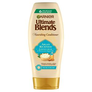 Garnier Ultimate Blends Argan Oil & Almond Cream Dry Hair Conditioner 360ml