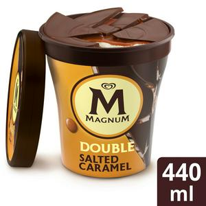 Magnum Tub Double Salted Caramel Ice Cream 440ml