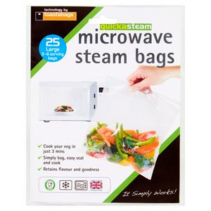 Toastabags Microwave Steam Bags x25