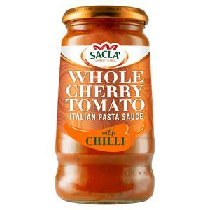 Sacla' Whole Cherry Tomato & Chilli Sauce 350g