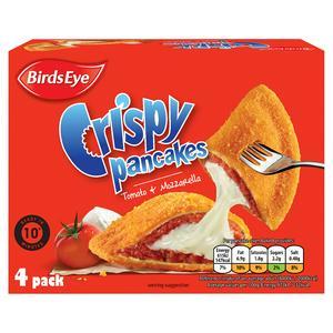 Birds Eye Tomato & Mozzarella Crispy Pancakes x4 266g