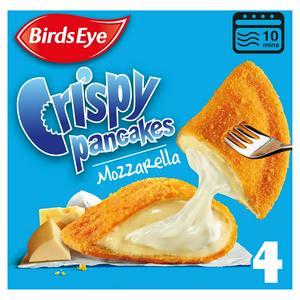 Birds Eye Mozzarella Crispy Pancakes x4 266g