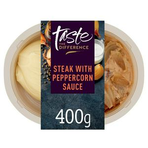 Sainsbury's Taste the Difference Steak with Peppercorn Sauce 400g