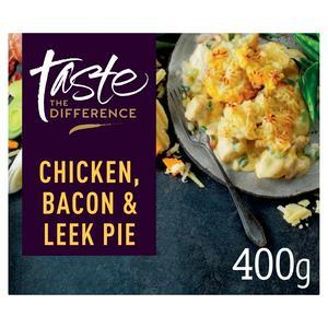 Sainsbury's Taste the Difference Chicken, Bacon & Leek Pie 400g